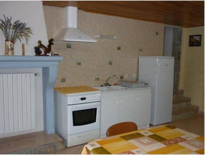 Location de vacances - Appartement à Étables - coin cuisine