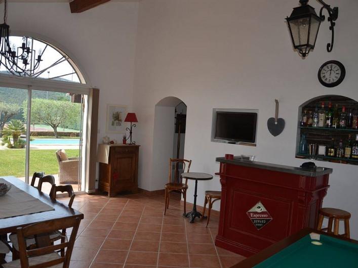 Location de vacances - Maison - Villa à Pignans - piece de vie