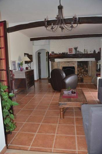 Location de vacances - Maison - Villa à Pignans - salon