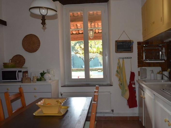 Location de vacances - Maison - Villa à Pignans - cuisine