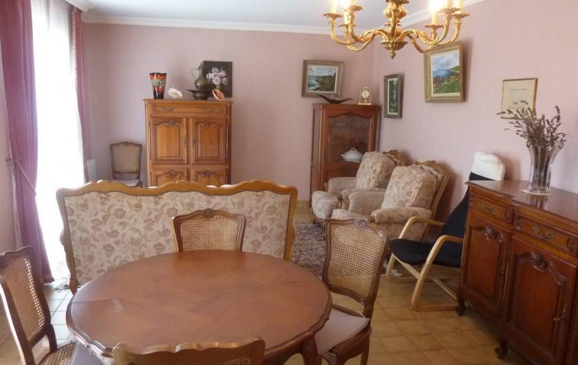 Location de vacances - Villa à Névez - Salon et salle à manger