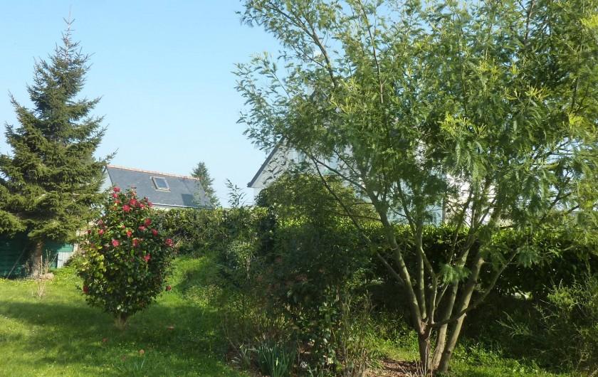 Location de vacances - Villa à Névez - Jardin devant la maison