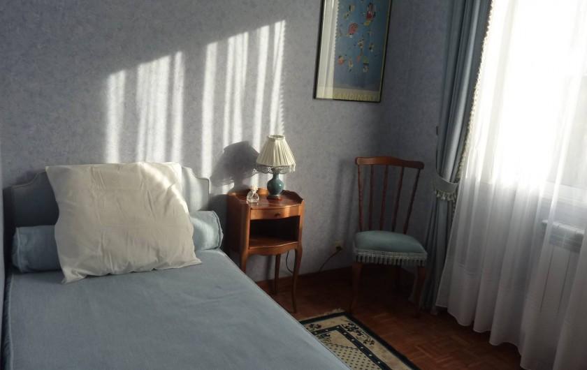 Location de vacances - Villa à Névez - Chambre lit simple
