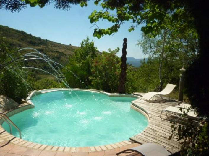 Location de vacances - Gîte à Saint-Privat - piscine pour les vacancies de nos 3 gites  (juin-september)
