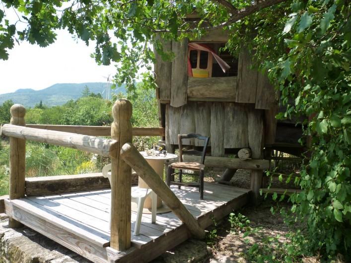 Location de vacances - Gîte à Saint-Privat - Cabane d'enfants