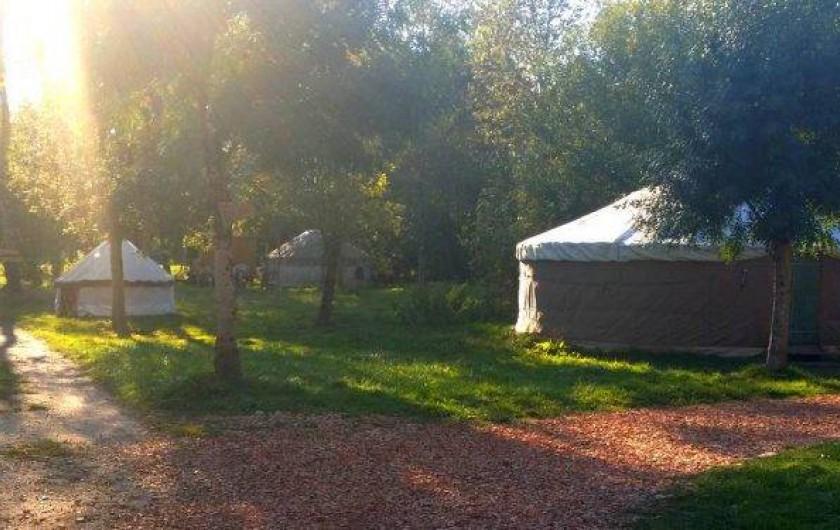 Location de vacances - Yourte à La Grève-sur-Mignon