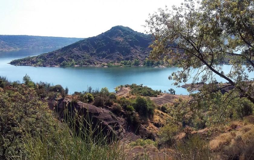 Location de vacances - Villa à Le Puech - Lac du Salagou côté Octon