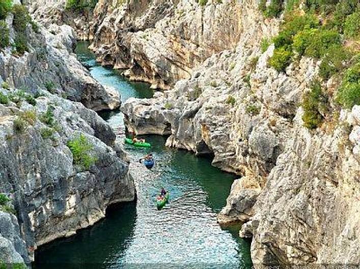 Location de vacances - Villa à Le Puech - Le pont du Diable.