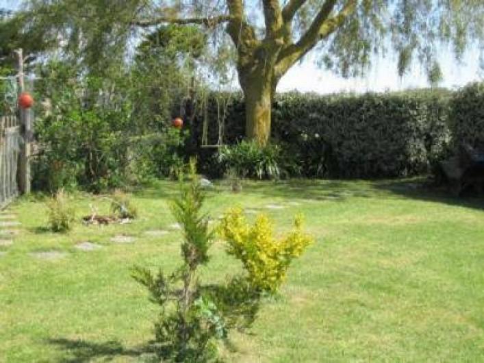 Location de vacances - Gîte à Pirou - un coin du jardin