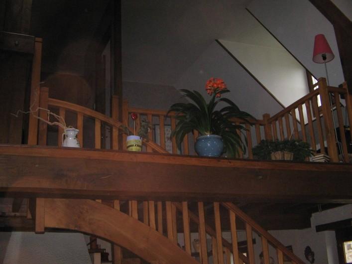 Location de vacances - Gîte à Pirou - l'escalier