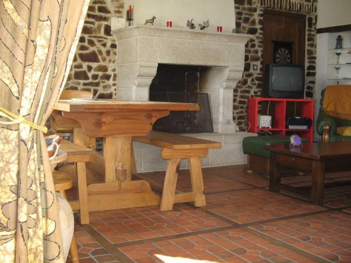 Location de vacances - Gîte à Pirou - le coin repas