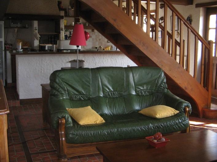 Location de vacances - Gîte à Pirou - le salon