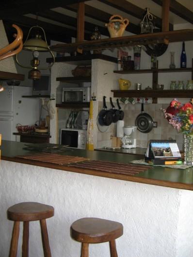 Location de vacances - Gîte à Pirou - la cuisine