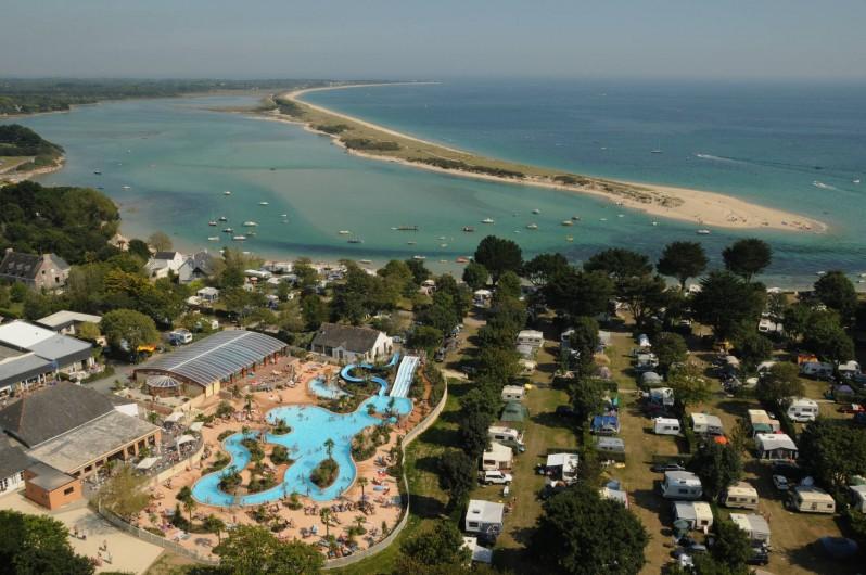 Location de vacances - Camping à Bénodet - Situation