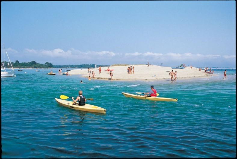 Location de vacances - Camping à Bénodet - Kayak devant le camping