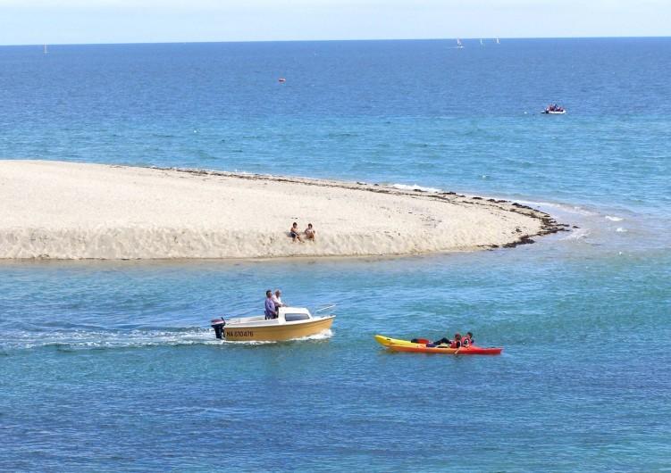 Location de vacances - Camping à Bénodet - La pointe de la dune face au camping