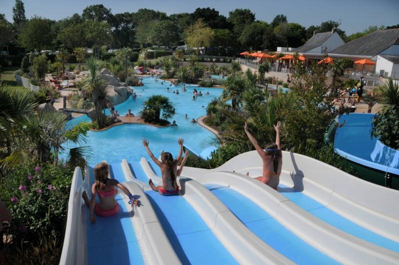 Location de vacances - Camping à Bénodet - Espace aquatique