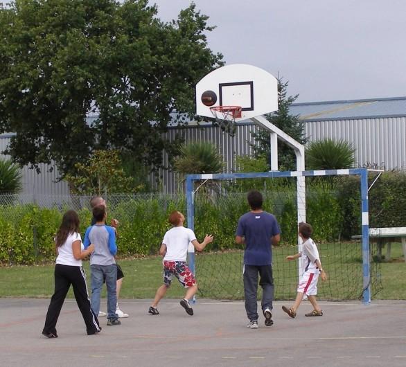 Location de vacances - Camping à Bénodet - Activité basket