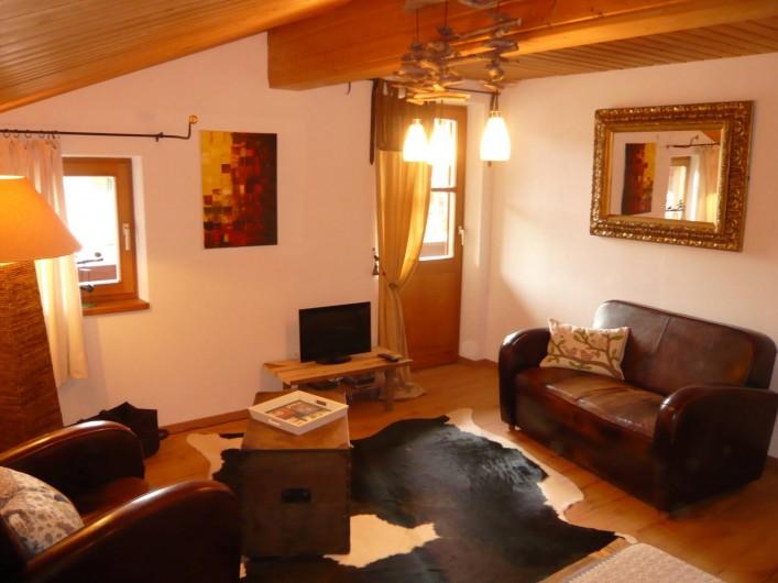 Location de vacances - Appartement à Reit - Salon