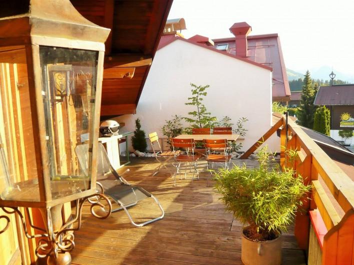 Location de vacances - Appartement à Reit - Terrasse