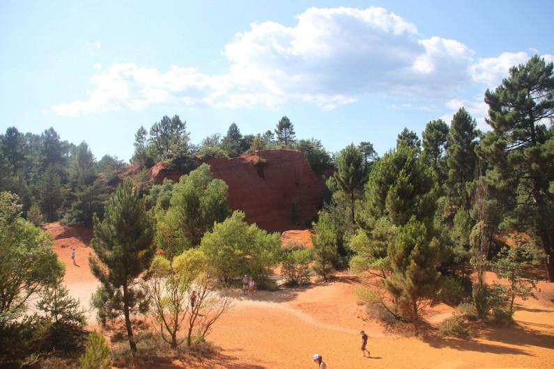 Location de vacances - Maison - Villa à Rustrel - Le Colorado provençal : un espace pour l'émerveillement!
