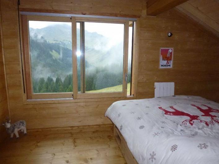 Location de vacances - Chalet à Le Praz de Lys - chambre 1- Lit 160cm