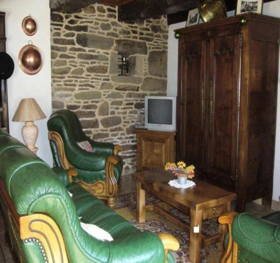 Location de vacances - Maison - Villa à Cléguérec - le coin télevision