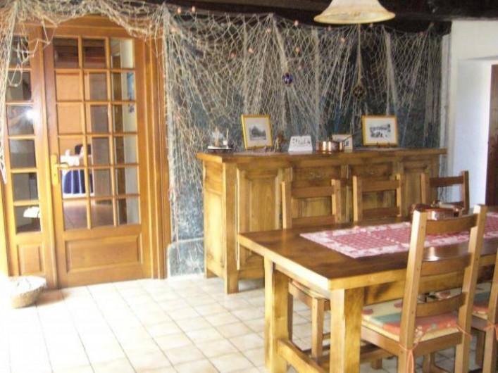 Location de vacances - Maison - Villa à Cléguérec - la salle a manger