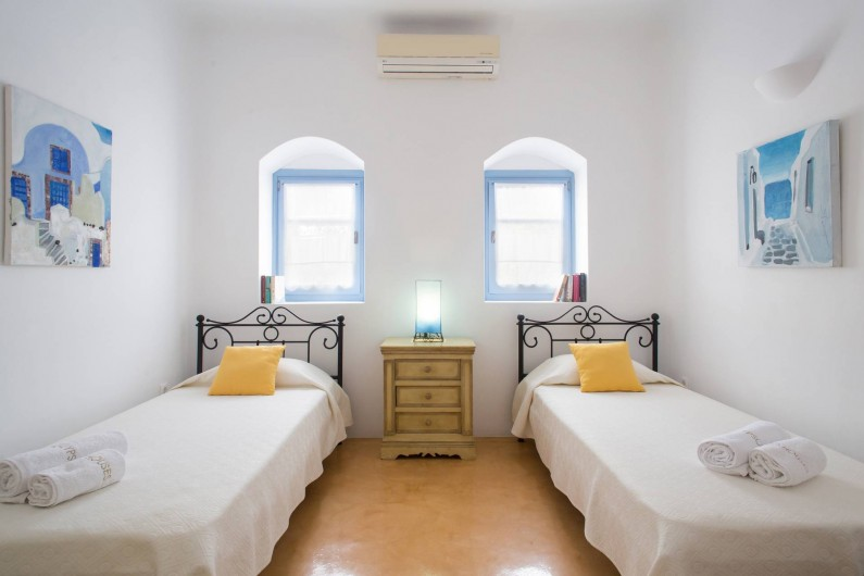 Location de vacances - Villa à Thera - Chambre3