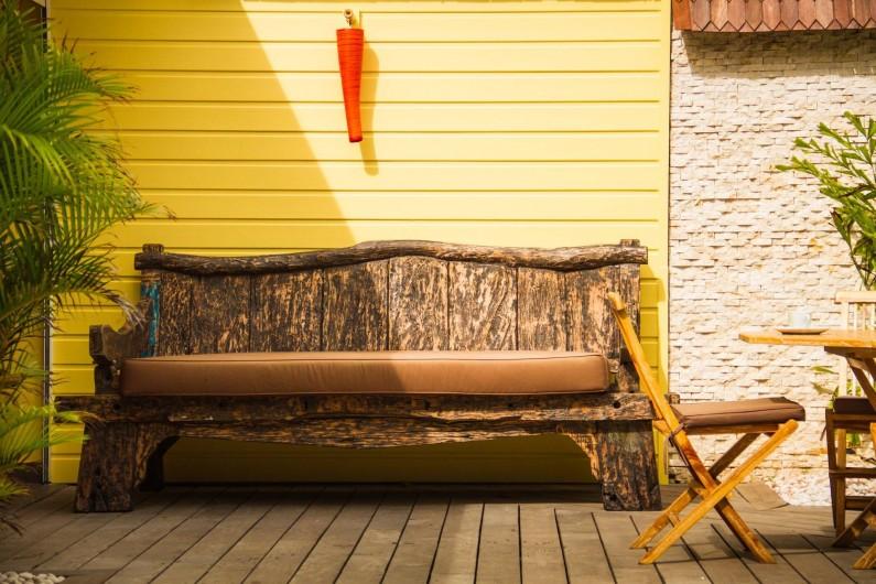 Location de vacances - Villa à Le Diamant - Day bed spécial sieste
