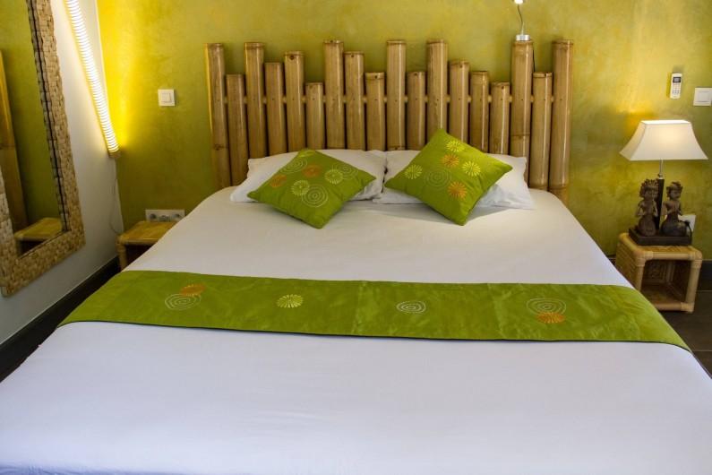 Location de vacances - Villa à Le Diamant - Chambre bambou