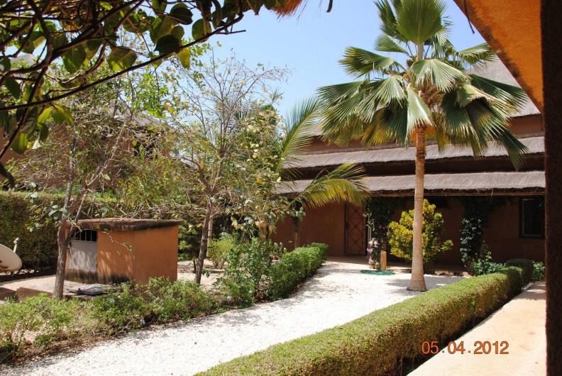 Location de vacances - Maison - Villa à Nianing - L'entrée de la maison