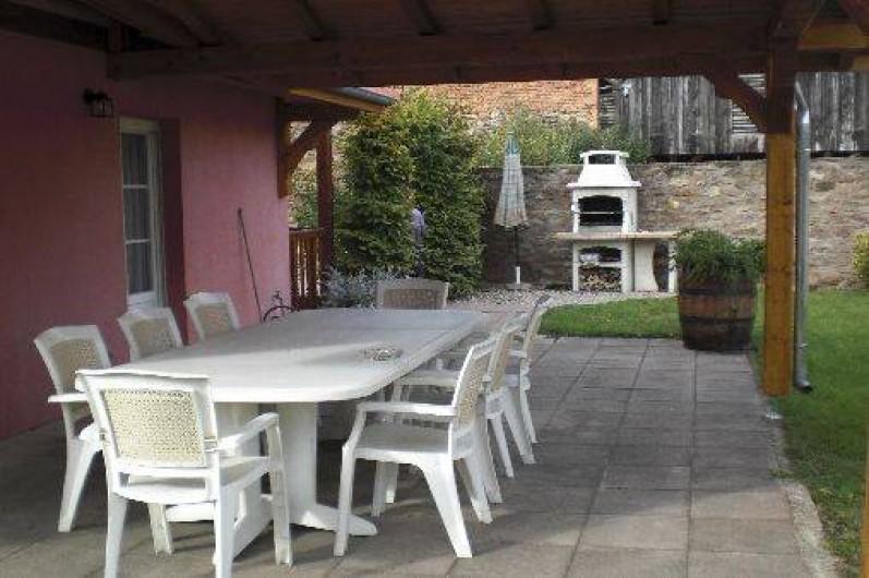 Location de vacances - Villa à Stotzheim - auvent