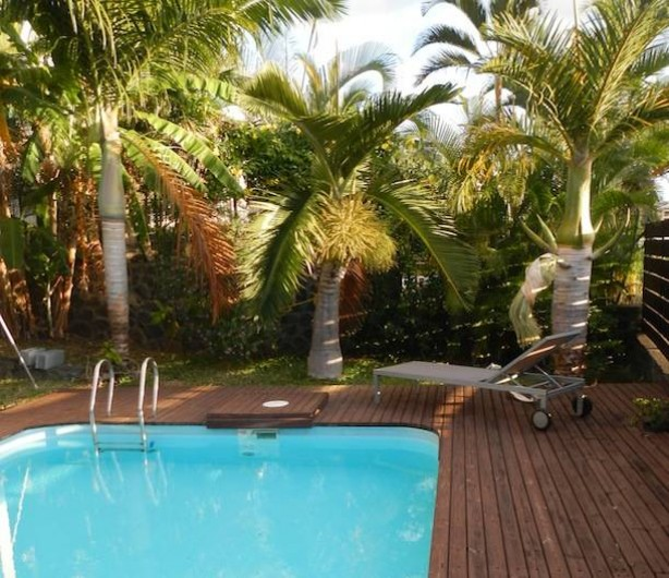 Location de vacances - Villa à Saint-Paul - Piscine