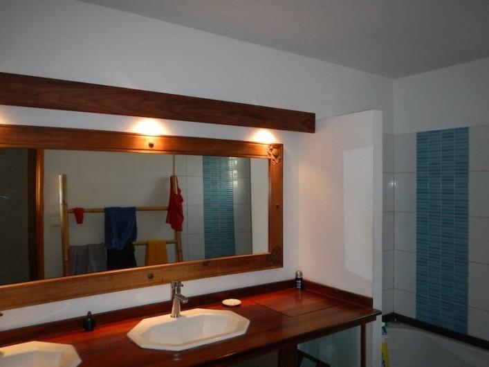 Location de vacances - Villa à Saint-Paul - Lavabos salle de bains