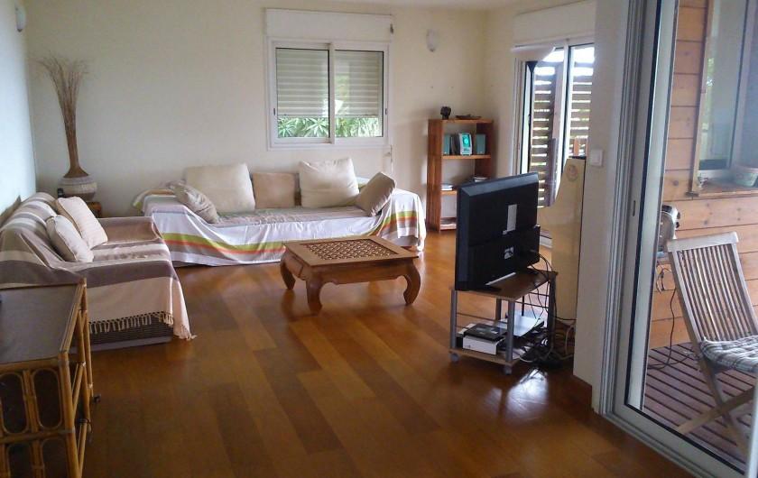 Location de vacances - Villa à Saint-Paul - Salon intérieur