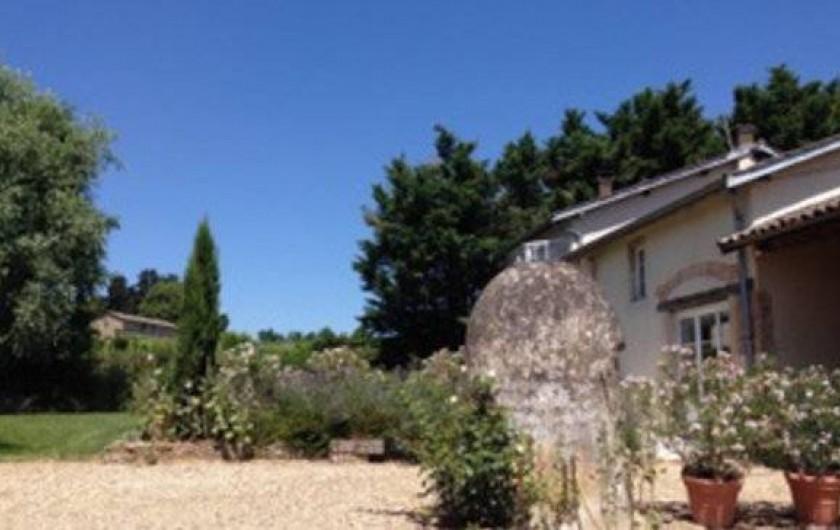 Location de vacances - Gîte à Saint-Jean-d'Ardières