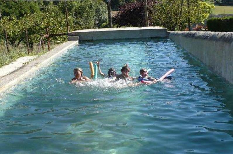 Location de vacances - Gîte à Mirmande - la piscine
