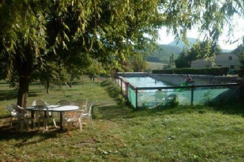 Location de vacances - Gîte à Mirmande - Le jardin