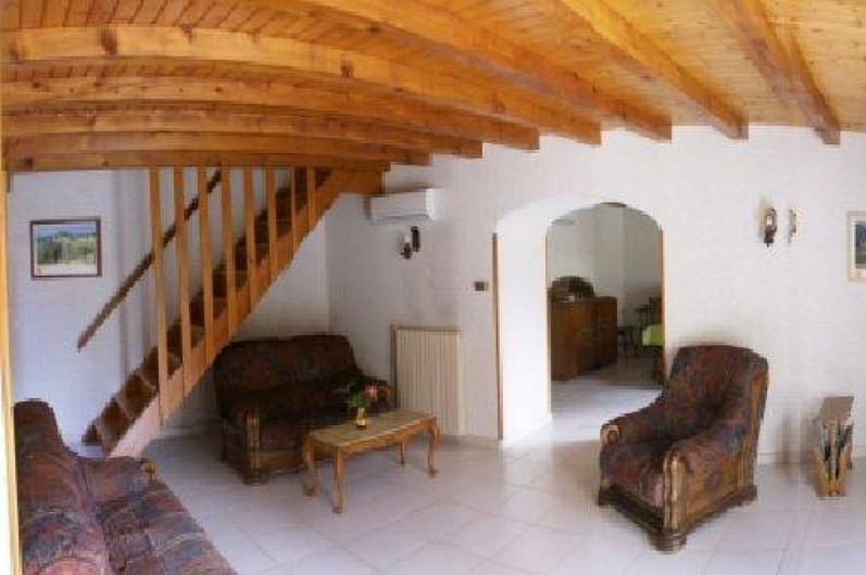 Location de vacances - Gîte à Mirmande - le salon
