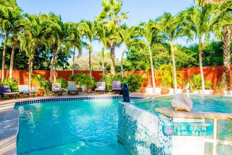 Location de vacances - Bungalow - Mobilhome à Santa Catharina - two level pool