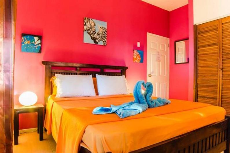 Location de vacances - Bungalow - Mobilhome à Santa Catharina - separate room fuschia
