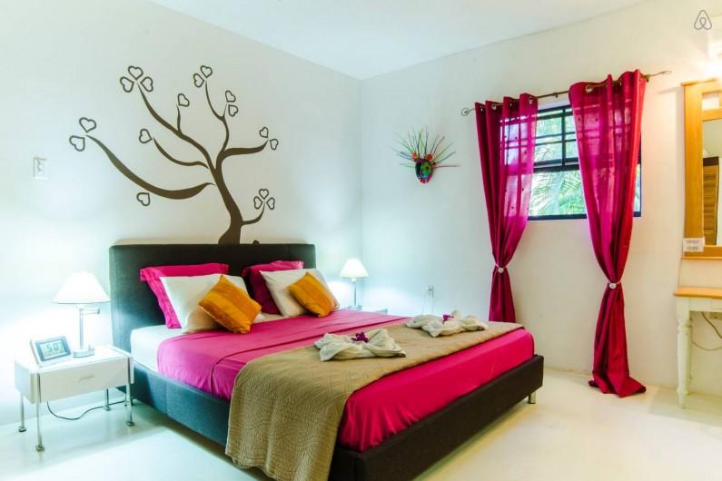 Location de vacances - Bungalow - Mobilhome à Santa Catharina - master bedroom