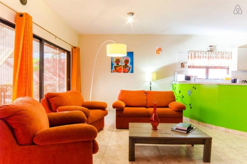 Location de vacances - Bungalow - Mobilhome à Santa Catharina - salon/sitting area