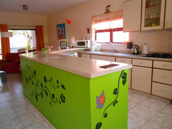Location de vacances - Bungalow - Mobilhome à Santa Catharina - kitchen side