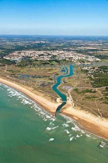Location de vacances - Gîte à Brem-sur-Mer - barrage de la Gachère