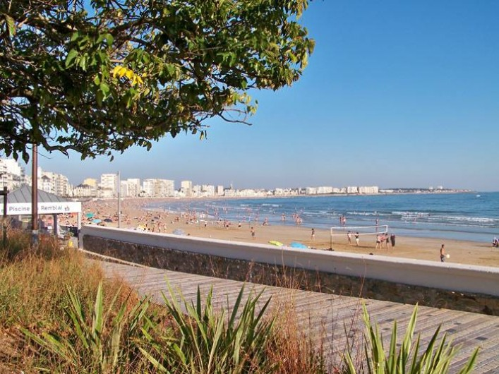 Location de vacances - Gîte à Brem-sur-Mer - Grand Plage des Sables d'Olonne