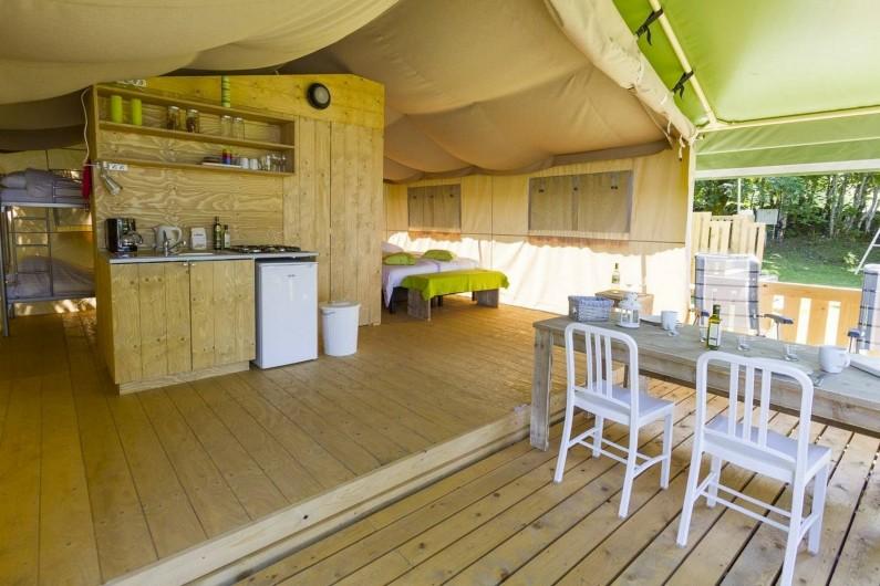 Location de vacances - Camping à Argences-en-Aubrac - TENTES SAFARI TENDI