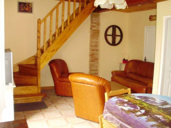 Location de vacances - Maison - Villa à Biscarrosse - salon
