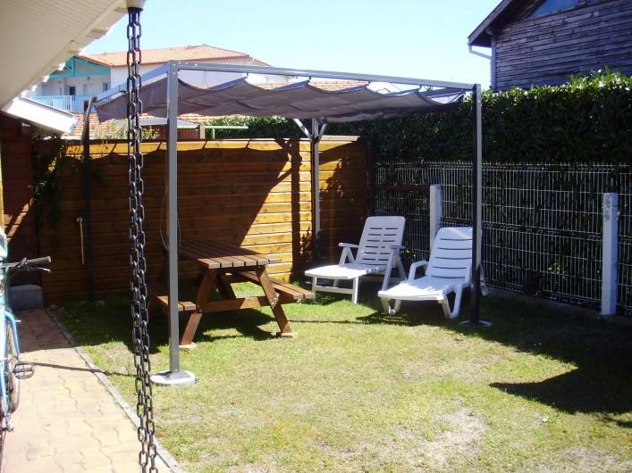 Location de vacances - Maison - Villa à Biscarrosse - terrasse